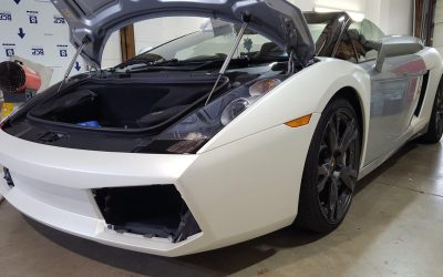 Lamborghini wrap